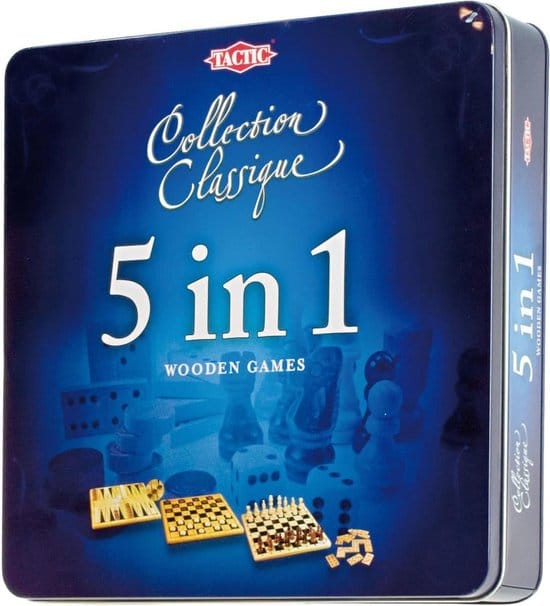 5 in 1 - Gezelschapsspel