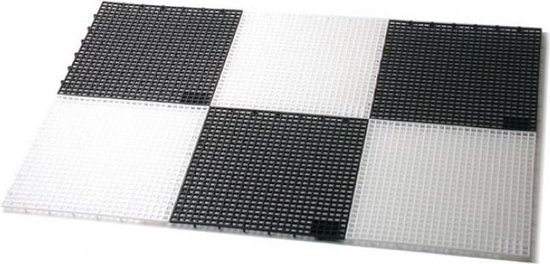 Buiten plastic schaakbord - voor stukken 41/64 cm