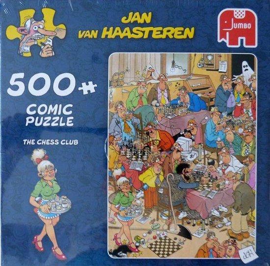 Jan van Haasteren - Comic puzzle - The chess club - Puzzel 500 stukjes