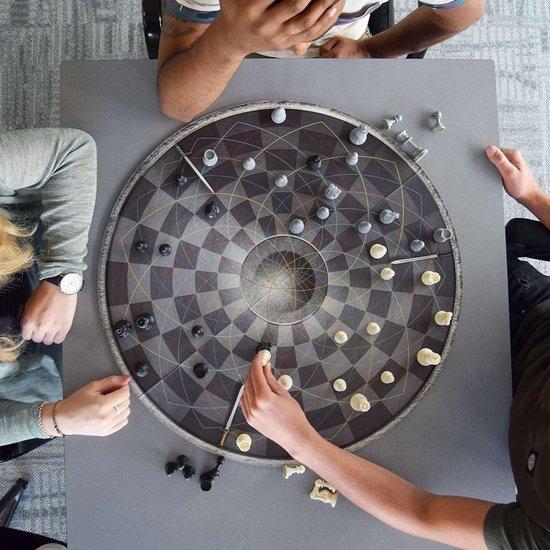 MikaMax Chess for Three Schaakspel voor 3 personen ø 55cm