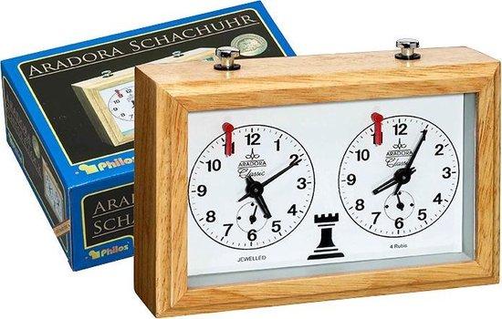 Philos schaakklok, Aradora hout mechanisch