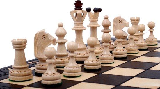 SENATOR - Luxe houten schaakbord Schaakspel