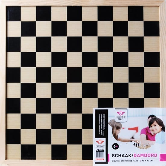 Schaak En Dambord (2-in-1) - Longfield Games