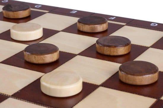 Sunrise- Spel 3 in 1 – schaken dammen backgammon – luxe schaakspel schaakbord