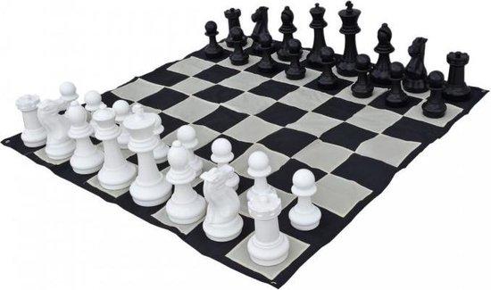 Tuin schaakstukken groot - 41 cm