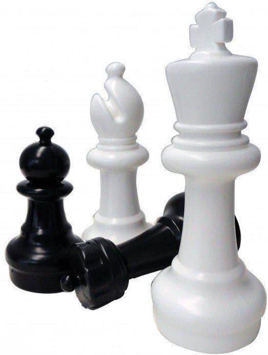 Tuin schaakstukken groot - 64 cm