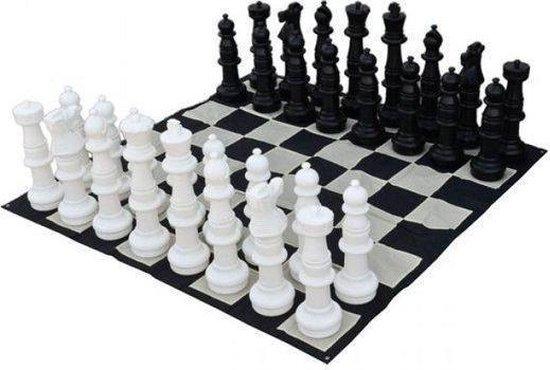 Tuin schaakstukken groot - 90 cm