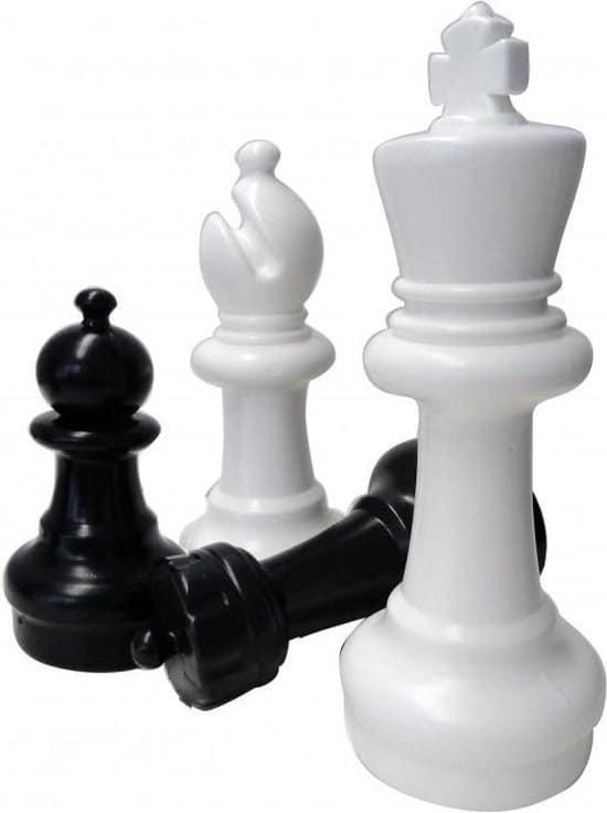 Tuin schaakstukken klein - 31 cm