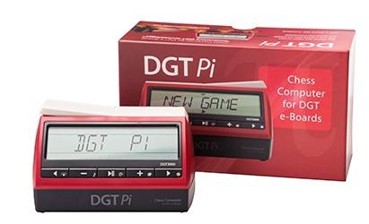 DGT Pi schaakcomputer met verpakking