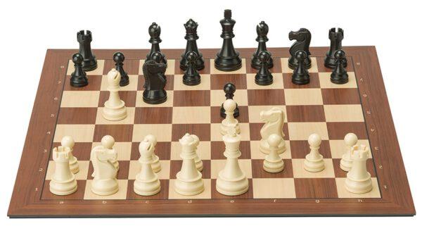 DGT Smart Board met coördinaten en Plastic Electronic Chess Pieces