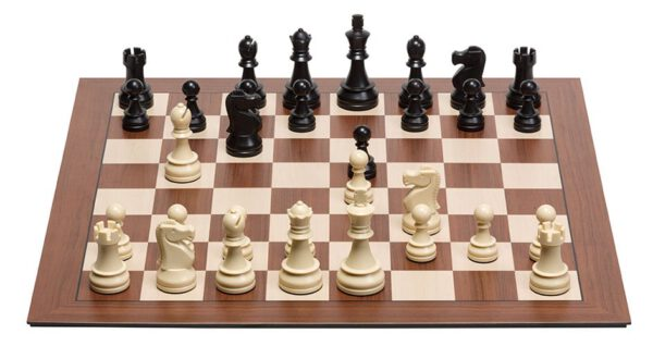 DGT Smart Board without indices and Plastic Electronic Chess Pieces