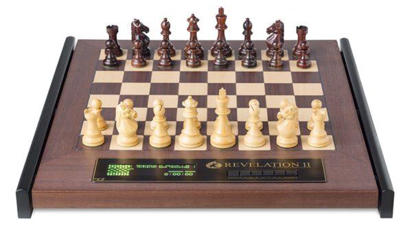 DGT Revelation II met Royal schaakstukken