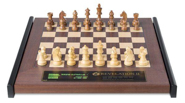DGT Revelation II met Timeless schaakstukken