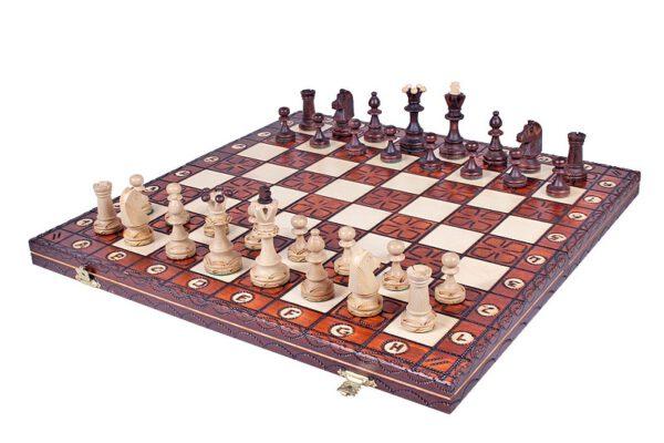 Junior luxe schaakspel van Sunrise