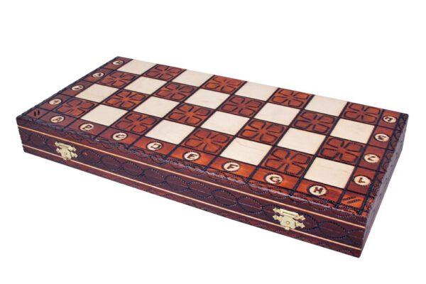 Junior luxe schaakspel Sunrise CHW4
