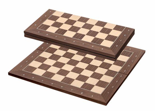 2348 - Kopenhagen schaakbord Veld 50mm Inklapbaar (met coördinaten)