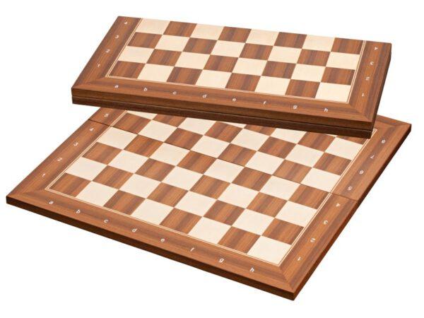 2370 - London schaakbord Veld 50mm Inklapbaar (met coördinaten)